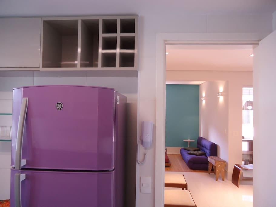 Ambientes da sala, escritório, varanda gourmet e solarium/área privativa