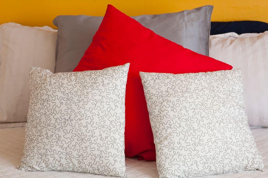 Fancy pillows :)
