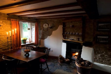 Romantic cosy holiday cottage - Casa