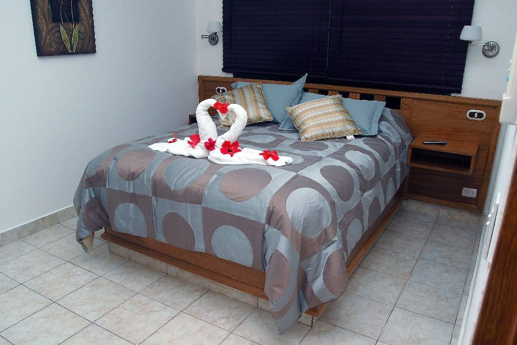 master bedroom with full private bathroom