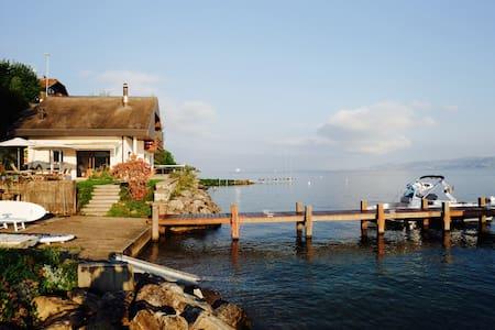 Waterside villa near Evian and Montreux. - Publier - Villa