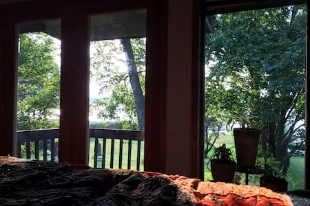 Chambre pour Amoureux en bord d'eau - Shawinigan - Bed & Breakfast