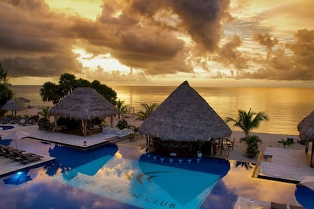 Belize Ocean Club Resort for 4 - Placencia - Annat