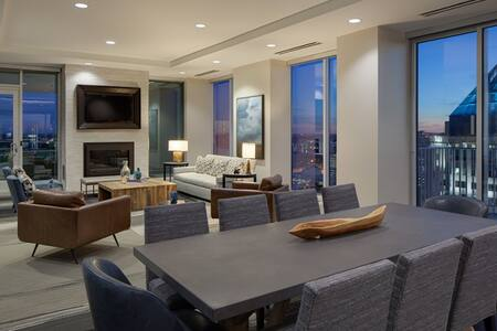 Amazing 16th floor Studio in Uptown - Amazing View - Charlotte - Wohnung