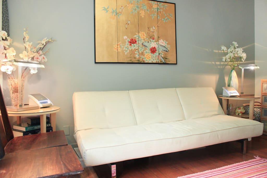 Beautiful sitting room.