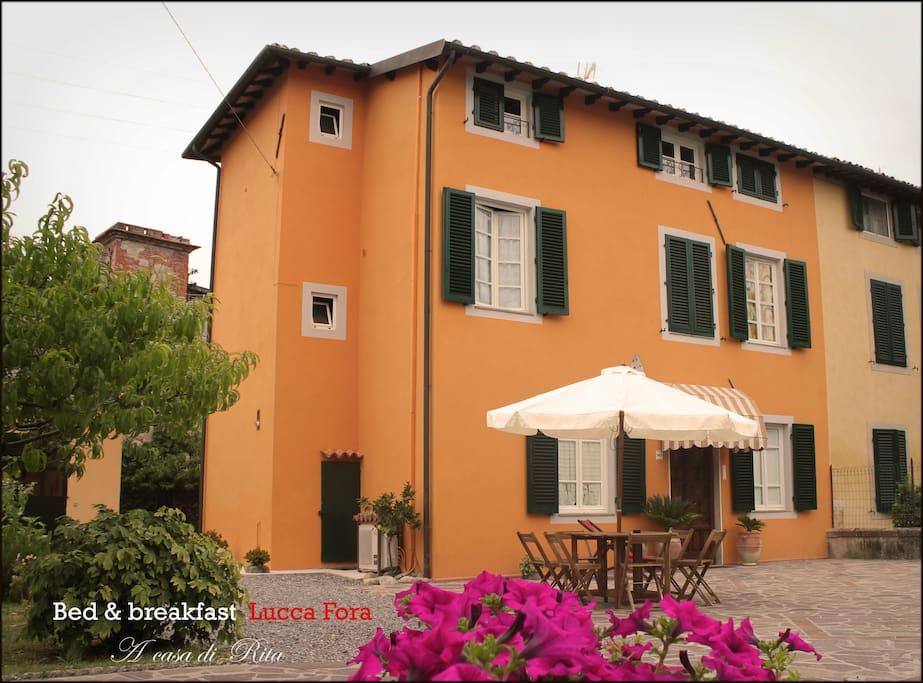 Il B & B Lucca Fora in una tipica casa di corte Lucchese !