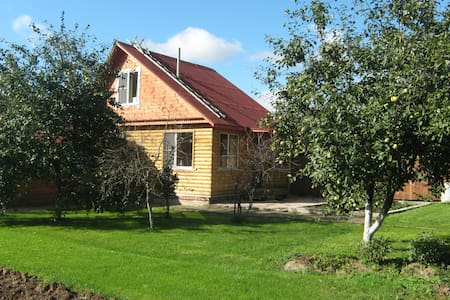WONDERHOUSE with sauna near Moscow - Huis