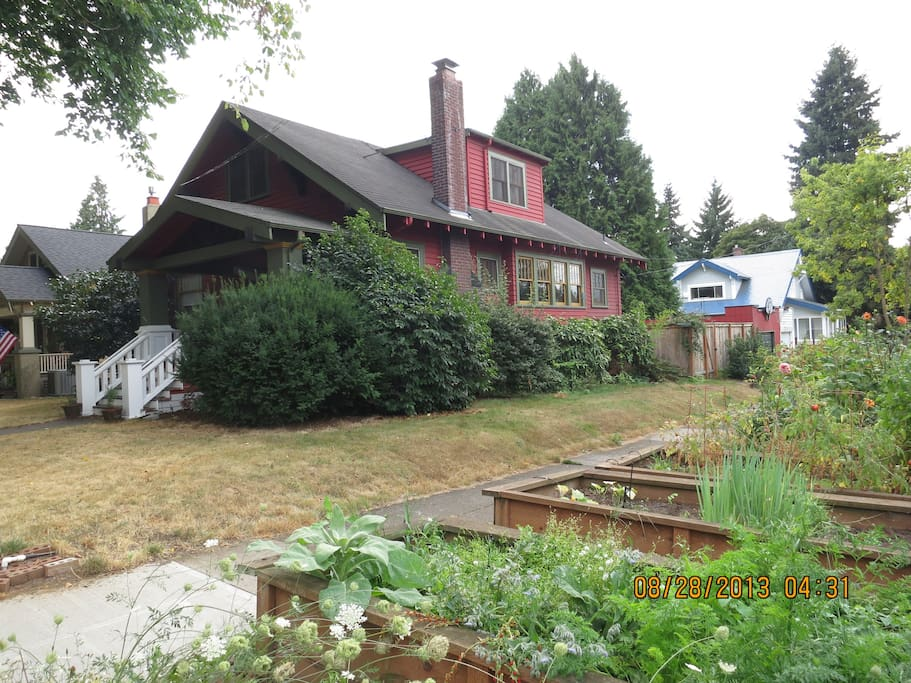 Our lovely 1913 Craftsman home