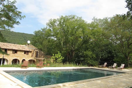 ch d'hôte terrasse privé vue dégagé - Saint-André-d'Olérargues - Bed & Breakfast