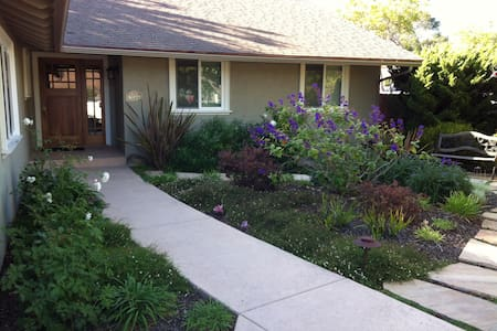 Comfy 2 Bedrm + Use of Lovely Home - Goleta - Haus