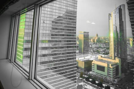 Шикарная квартира на 28-м этаже