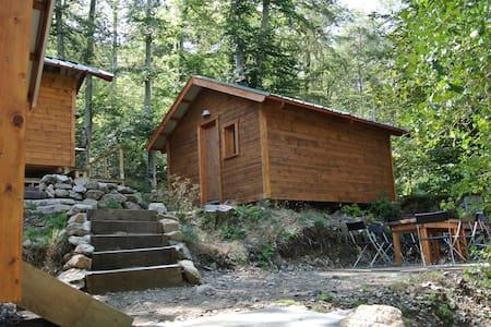 GR20, Chalet au Col de Vizzavona - Hytte (i sveitsisk stil)