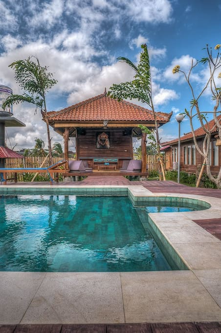 Traditional balinese Villa