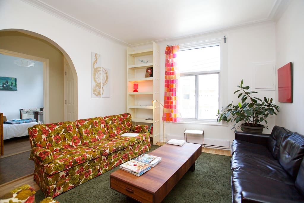 Bright apartment in the Mile End