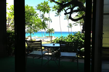 Quiet Ocean Front Apt w/ Pool, BBQ - Lahaina