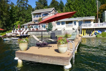 Cottage on Sammamish - Lake House - 一軒家
