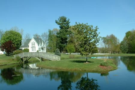 A Little Piece of Heaven in Allegan - Allegan - Bed & Breakfast
