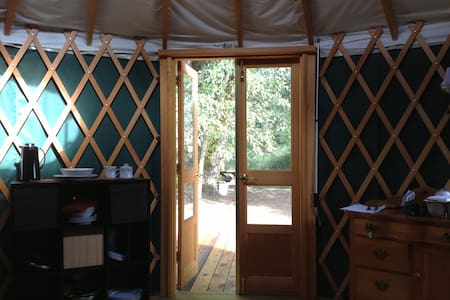 Retreat on the Willamette River - Yurt
