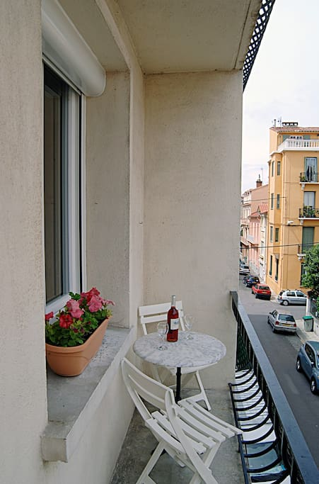 Balcony from double bedroom