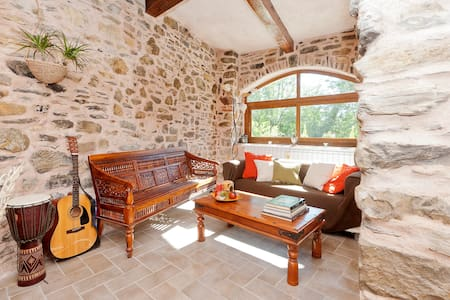 North Tuscany, dreamy stone retreat - Fornoli - House