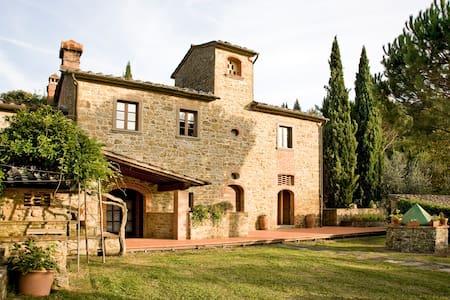 Charming independent villa Tuscany - Arezzo - Villa