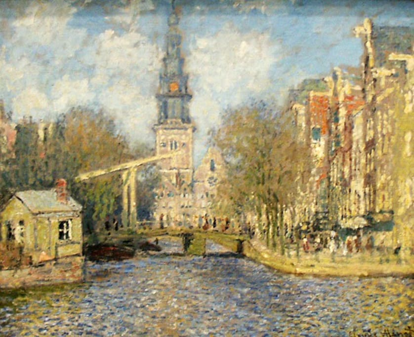 Groenburgwal by Claude Monet