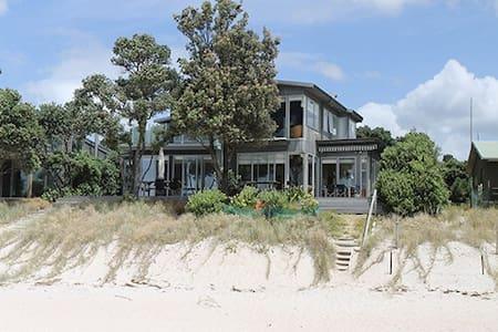 Absolute Beachfront - Coromandel - House
