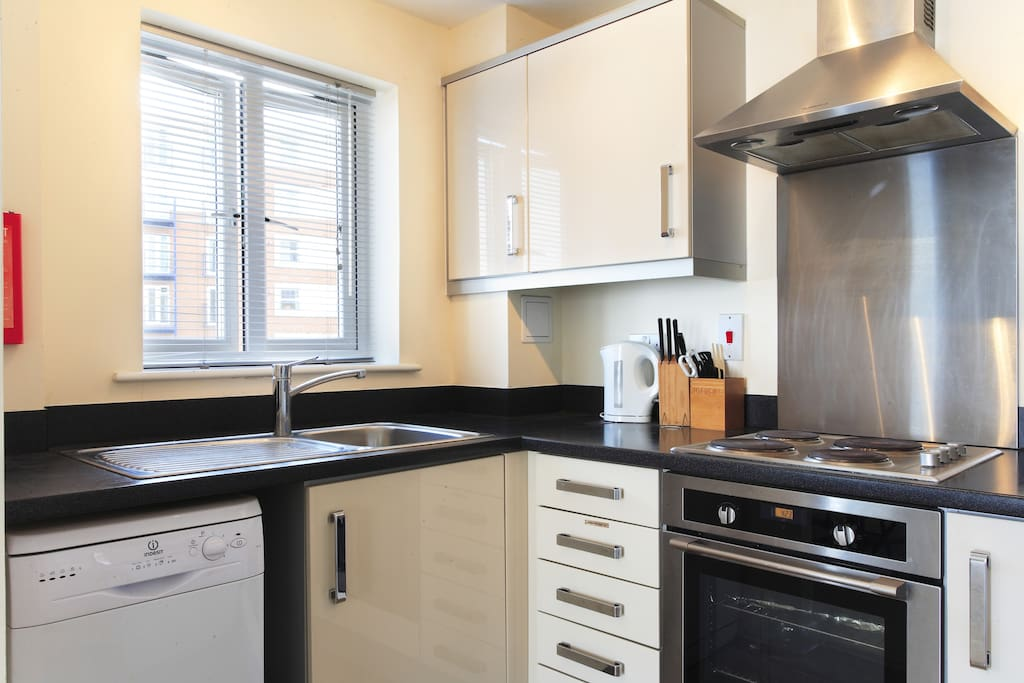 Apartment 19 With Fully Equipped Kitchen