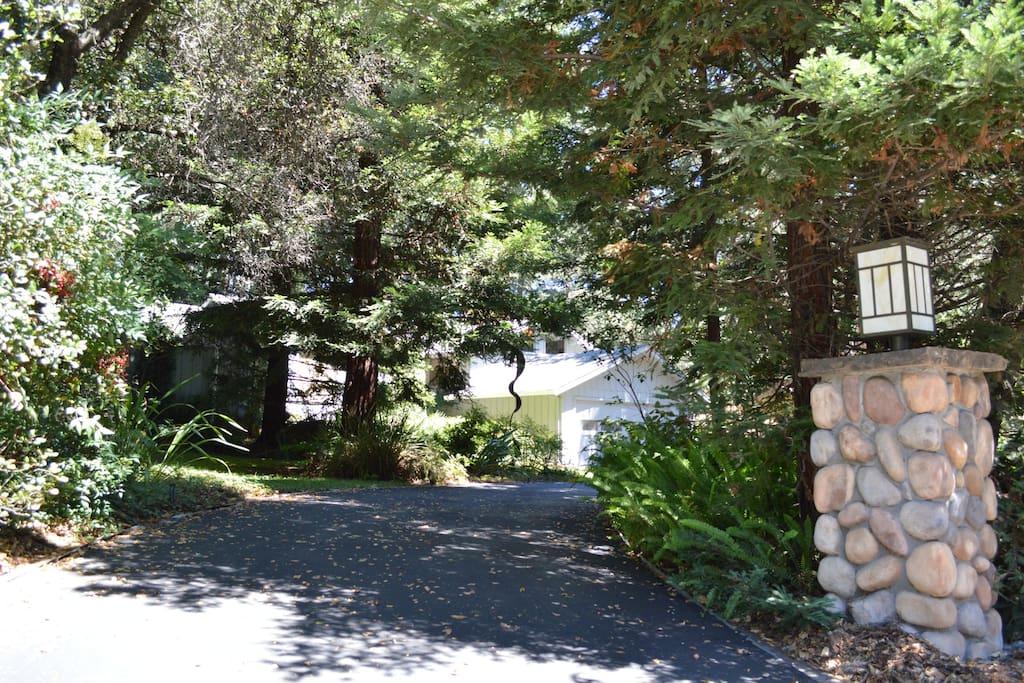 Garden View in Multi-level Home