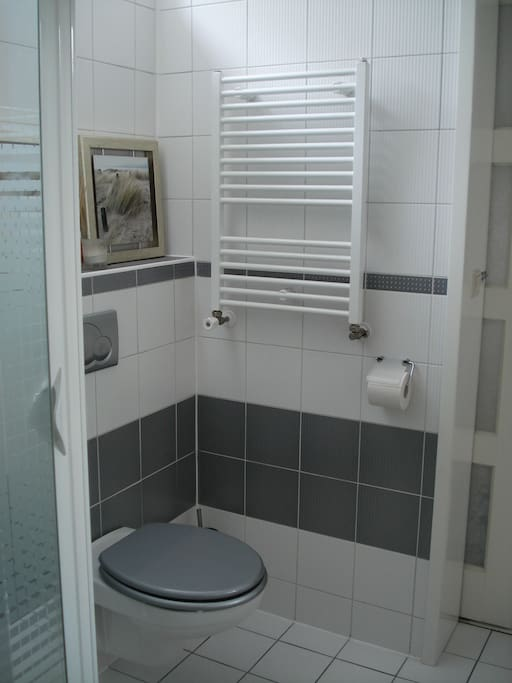 Your own toilet and heating in the bathroom