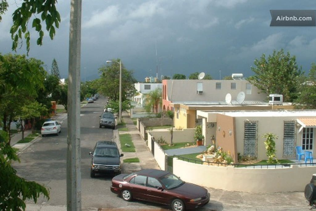 Neighborhood during cloudy day 1