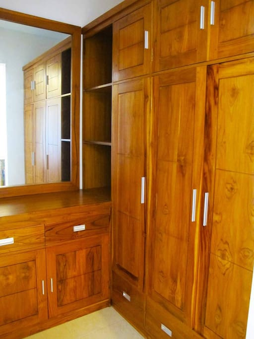 large cupboards