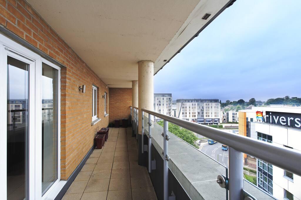 Apartment 67 Outside Balcony Area