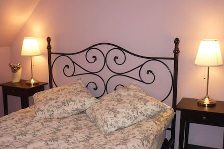 2 chambres pour séjour familial