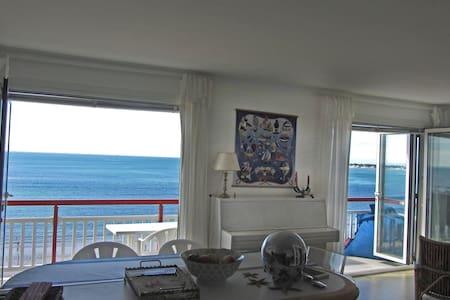 Appartement spacieux face à l'océan proche centre - Lejlighed