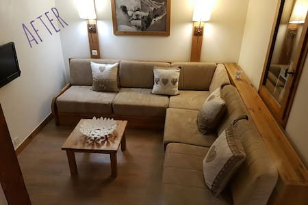 Contemporary Duplex Ski apartment Montchavin - Apartamento