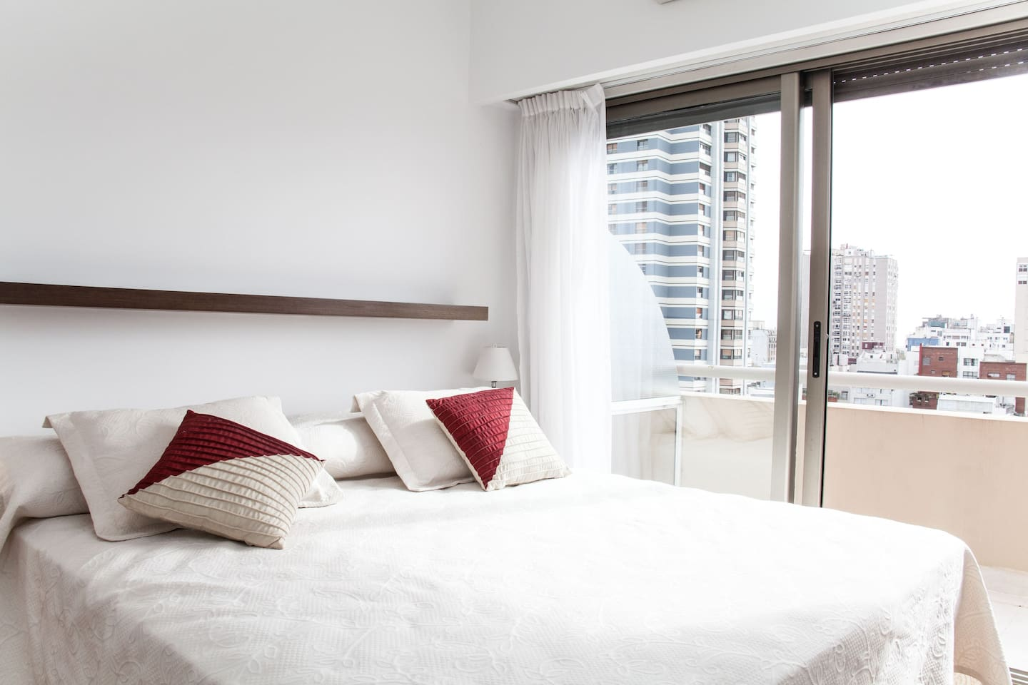 Master Bedroom with open City View