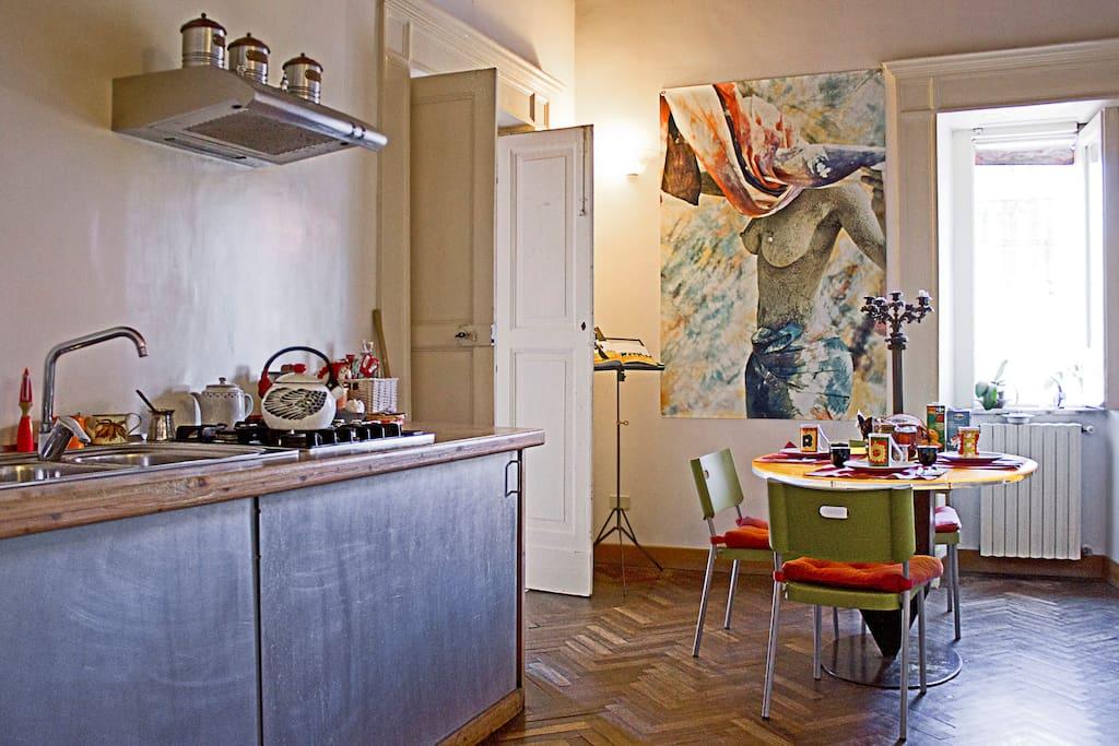Shared Kitchen. La cucina disegnata da Andrea Orsini