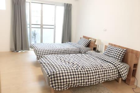 大遠百三多捷運站3分鐘舒適簡潔公寓 - Qianzhen District