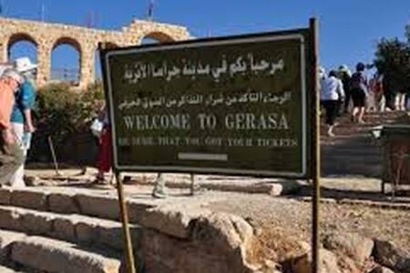 Visit Jarash the Ancient Roman City