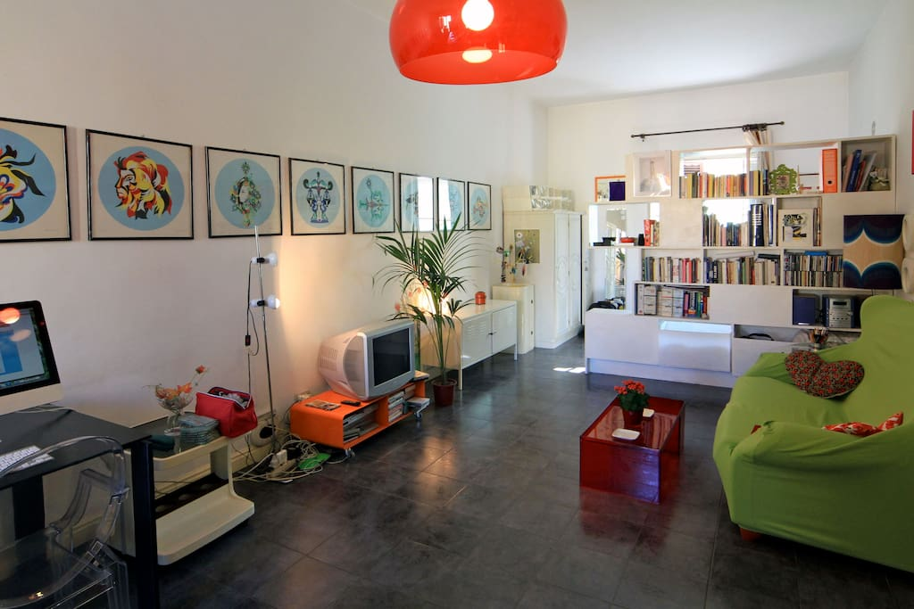 Stylish studio flat in San Lorenzo