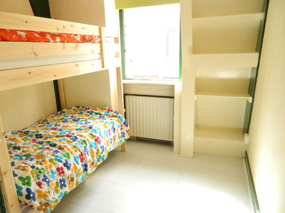 ROOM 2: Here's the bunk bed in the second room.