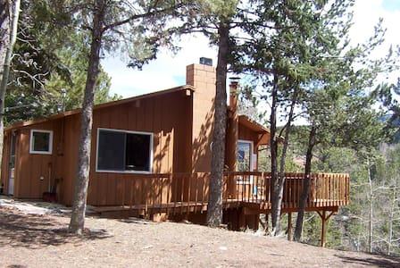 Horseshoe Lodge Divide Colorado  - Kisház