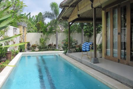 POOL VILLA, 4 MIN WALK TO THE BEACH - Canggu - Villa