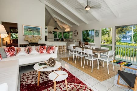 Hanalei Bay -  3 bedrooms with hot tub & game room - 단독주택