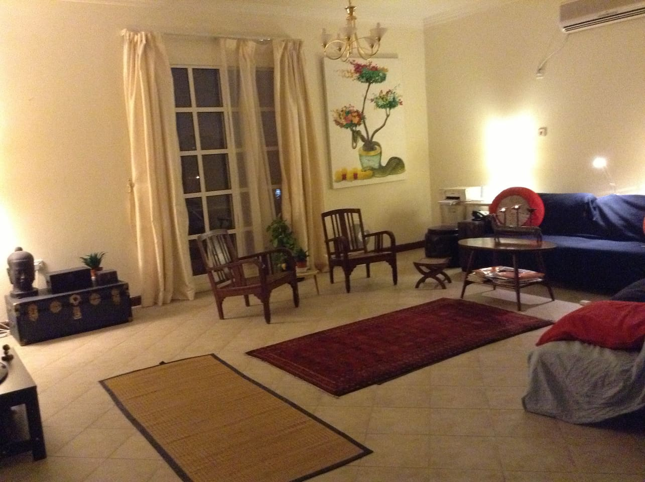 Entire flat for $65, central Doha!