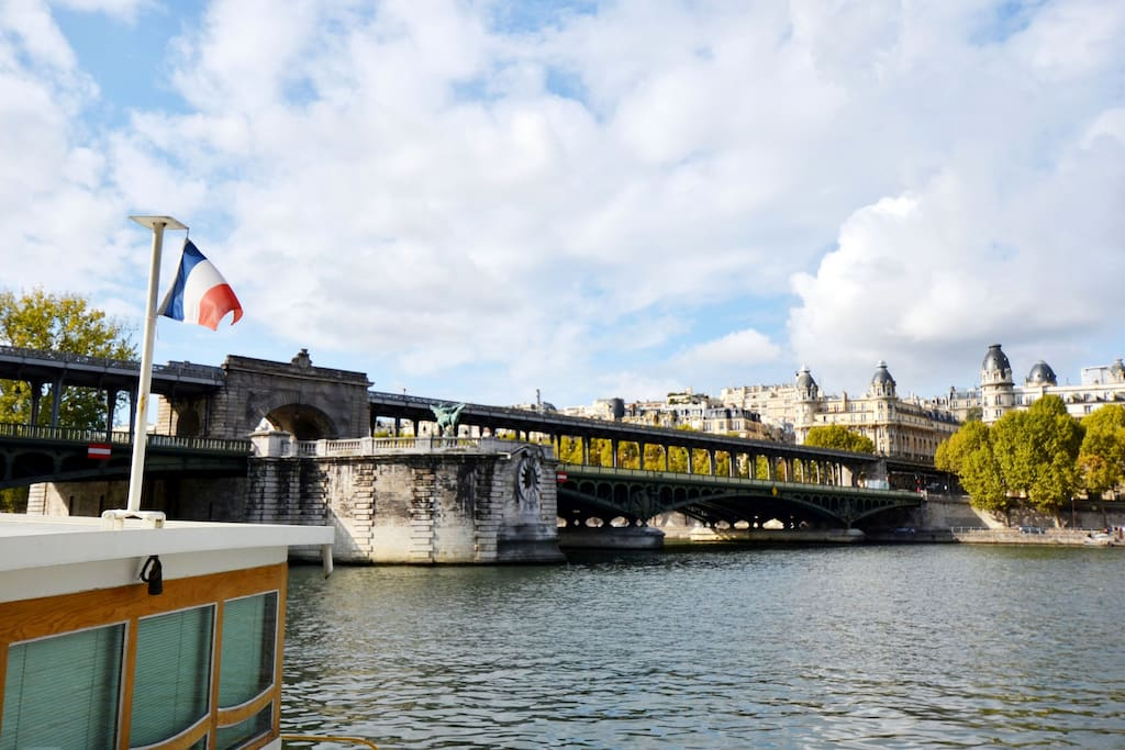 Bir Hakeim Bridge.