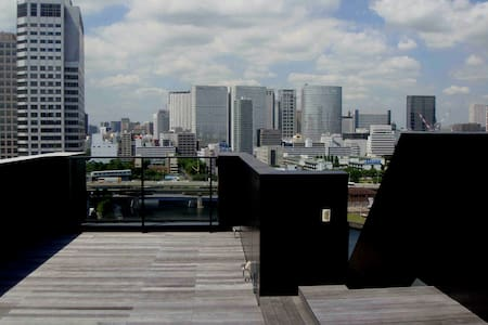 Huge Roof Deck & Fantastic Views - Minato - Appartement
