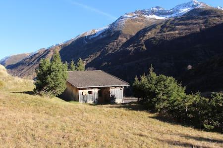 Jagdhütte an der Rheinquelle - Hütte