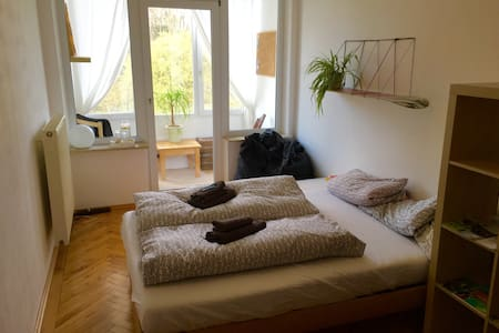 Cozy Room in the Center of Augsburg - Augsburg - Huoneisto